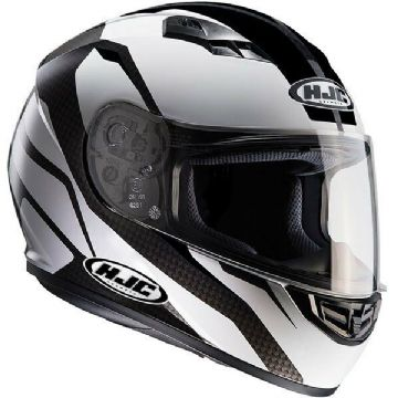 HJC CS-15 Sebka Black Full Face Motorcycle Motorbike Helmet RRP £89.99